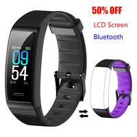 Smartband Fitness Tracker Sport Watch Heart Rate Pedometer Distance Calorie