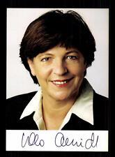 Ursula Schmidt AUTOGRAFO MAPPA ORIGINALE FIRMATO # BC 94681