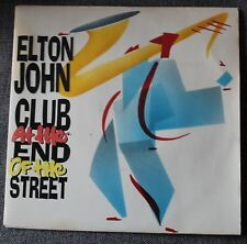 Elton John, club at the end of the street / give peace a , SP - 45 tours France