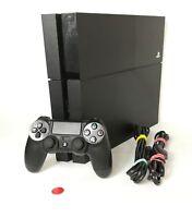 Sony PlayStation 4 Fat 500GB   PS4   Konsole   Schwarz   gebraucht