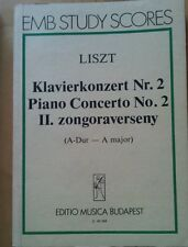 Liszt klavierkonzert nr 2 a dur taschenpartitur