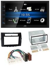 JVC 2DIN Bluetooth MP3 AUX USB Autoradio für Toyota Corolla 04-09 Verso schwarz