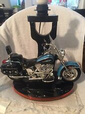 Harley Davidson Table Lamp w/ Night Light & Sounds, Heritage, Light, Excellent!