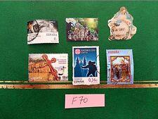 sellos españa usados CAMINO DE SANTIAGO AÑO MARIANO NAVIDAD