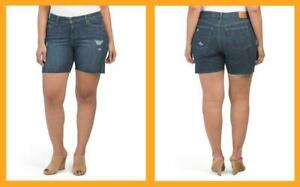 Levi's ~ Classic Mid-Rise Women's Plus Size 5-Pocket Jean Shorts $45 NWT