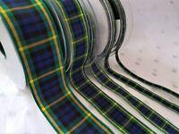 7622 Flower of Scotland 10 mm x 25 m-Berisfords Tartan Ruban