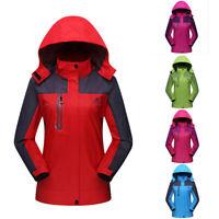 Women's Zip Winter Outwear Climbing Hiking Ski Snow Waterproof Sport Jacket Coat