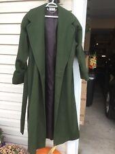 Dark Green coat by Ashley Scott