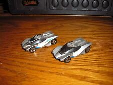 Lot of 2 Hot Wheels McD McDonld's Happy Meal toys #7 Swoopy Doo Exotic Race Cars