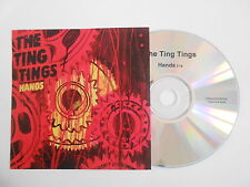 THE TING TINGS : HANDS [ CD PROMO ] ~ PORT GRATUIT !