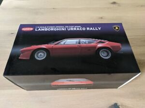 NEW kyosho 1/18 Lamborghini URRACO RALLY RED rouge 08442R