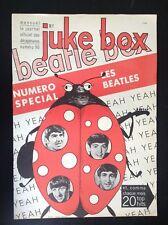 RARE revue Juke Box N°90 1964 The Beatlles Publicité Schtroumpfs Kwatta