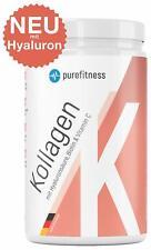 Kollagen Collagen Pulver mit Biotin Vitamin C Hyaluron Hydrolysat 450g