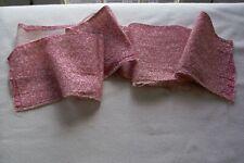 Vtg Antique 1800's cotton Fabric Quilt Dress - Double Pink - Primitive