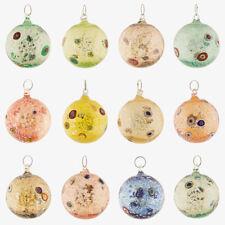 Palline vetro Murano palle Natale colore assortiti fornace murrina millefiori