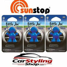 3er Set Little Joe Air Freshener Duftmännchen 3xOCEAN Splash Duftfigur Car Car