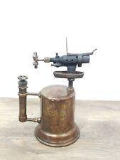 Vintage Otto Bernz Brass Blow Torch Pump In Handle Newark NJ