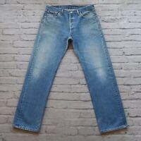 Vintage Levis 501 XX Denim Jeans Made in USA Light Wash 501-0000 501XX