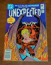 The Unexpected #222 (May 1982, DC) VG/FN Condition Mystery Horror Comic Last one