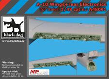 Black Dog A48091 Resin 1/48 Fairchild A-10A/C wings + rear electronics ITALERI