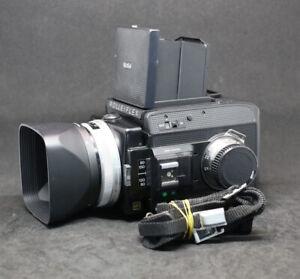 [FedEx]Rollei Rolleiflex SL 66SE body+planar 80/2.8+Film Back Magazine