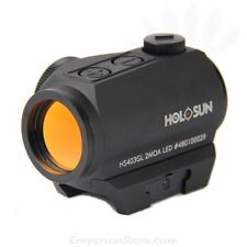 HOLOSUN HS403GL Red Dot Shooting Military Grade Target M4 side battery