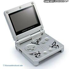 Nintendo GameBoy Advance - Konsole GBA SP AGS-101 #Tribal Edition + Stromkabel