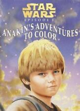 Star Wars Episode 1 Anakin's Adventures to Color (Coloring Book)-ExLibrary