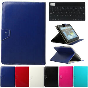 For Lenovo Tablet 2 3 4 M10 Bluetooth Slim Keyboard W/ Leather Stand Case Cover