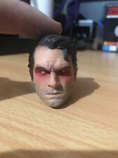 1/6 Scale Cregs Customs Angry Superman Sculpt Laser Eye Effect DC BvS