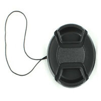 Hot 55mm Front Lens Cap Hood Cover Snap-on For Canon Sony Olympus Nikon Camera