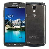 Samsung Galaxy S4 Active SGH-I537 UNLOCKED 16GB Smartphone USED - Blue Gray