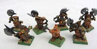 Warhammer Dwarf Slayers army lot painted AOS Dispossessed kings war metal