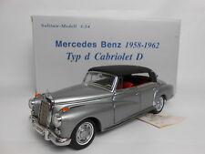 CMC M-026 Mercedes Benz 1958-1962 Typ d Cabriolet D scale 1:24