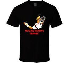 Novak Djokovic Serbian Tennis Player T Shirt