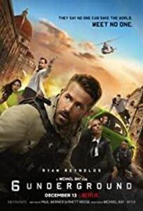 6 Underground - DVD - Ryan Reynolds