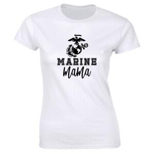 Marine Mama Crew Neck T-Shirt for Women