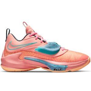 Nike Zoom Freak 3 Stay Freaky DA0694-600 Crimson Bliss Basketball Shoe Sneakers