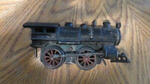 Antique cast iron toy train car