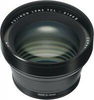 Fujifilm TCL-X100 II Tele Conversion Lens Black  For X100F EMS Fast Shipping NEW