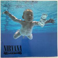 NIRVANA NEVERMIND LP GEFFEN 1991 FIRST PRESS MISPRINT A3/B2 MATRIX EX+ CONDITION