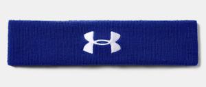 Under Armour Mens Performance Headband - Royal Blue / White - [1276990-400]