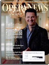 Opera News - 2012, September-Tenor Piotr Beczala, Elisir d'Amore, I Due Foscari