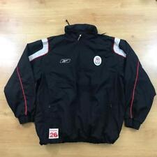 Reebok Vintage Liverpool Chándal Suéter Top 2XL Carlsberg Negro Rojo 90s