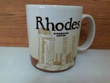 Starbucks Mug  Rhodes  Greece Global Icon Series  16 Oz  Coffee Cup 2016