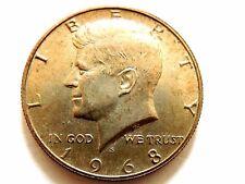 1968-S Kennedy Silver Half Dollar Coin