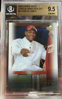 LEBRON JAMES Rookie 2003-04 UPPER DECK BOX SET BGS 9.5 GEM MINT white suit