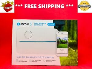 *BRAND NEW* Rachio 3rd Generation 8-Zone GARDEN SMART Water Sprinkler CONTROLLER