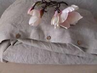 100% Linen duvet cover Twin Queen King Full duvet cover handmade linen bedding