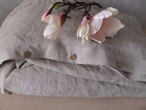 Linen duvet cover Twin Queen King duvet cover linen bedding natural flax gift